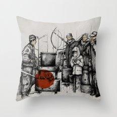 Boiler Throw Pillow