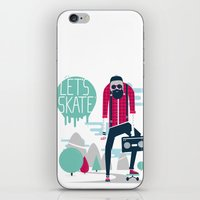 Let's skate  iPhone & iPod Skin