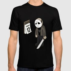 Friday the 12 Black Mens Fitted Tee SMALL