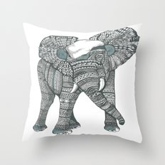 Humble elephant Throw Pillow
