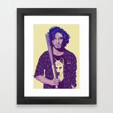 80/90s - J.S Framed Art Print