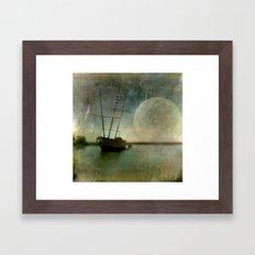 Shipwreck on Lake Ontario Framed Art Print
