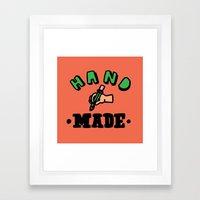 hand made Framed Art Print