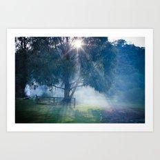 lerderderg state park Art Print