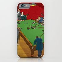 """iPhone & iPod Case featuring W. Heath Robinson's """"Indoor Football"""" by Peter Donahue"""