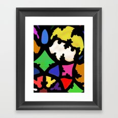 turkish in bright colors Framed Art Print