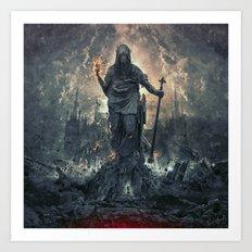 Eternal Conflict Art Print