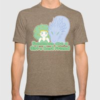 Summons are a Girl's Best Friend Mens Fitted Tee Tri-Coffee SMALL
