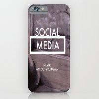 Social Media iPhone 6 Slim Case