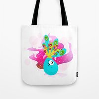 Fortune Feather Teller Tote Bag