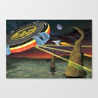 Tribute to ELO Canvas Print