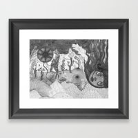 The Daughter Of Nature Framed Art Print