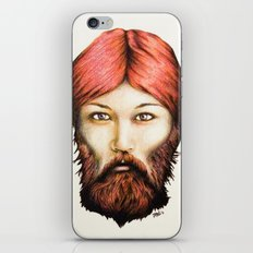 Wendy, The Bearded Lady iPhone & iPod Skin
