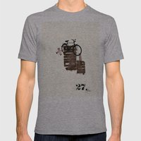 The Here 27/ Das Hier 27 Mens Fitted Tee Athletic Grey SMALL