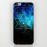 Dark star mandala iPhone & iPod Skin