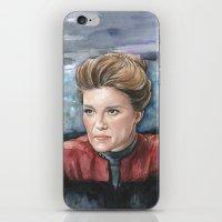 Captain Kathryn Janeway  iPhone & iPod Skin