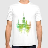 St Pauls Cathedral Londo… Mens Fitted Tee White SMALL