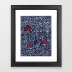Sensory Overload Americana  Framed Art Print