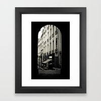 Parisian Doorway Framed Art Print