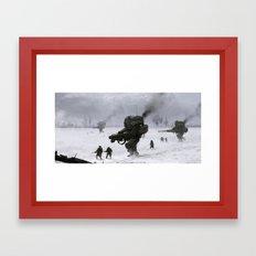 Soviet Army Framed Art Print