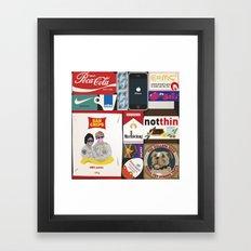 Consumption of goods Framed Art Print