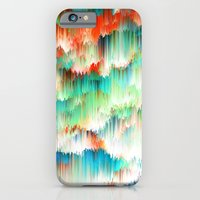 iPhone Cases featuring Raindown by nicebleed