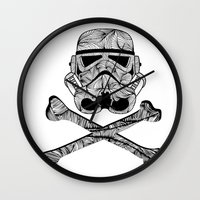 Skulltrooper Wall Clock