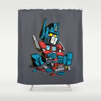AUTOBLOCKS Shower Curtain