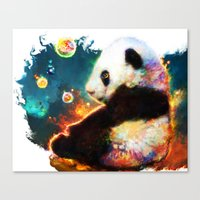 Pandas Dream Canvas Print