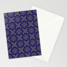 Royal [abstract pattern B] Stationery Cards