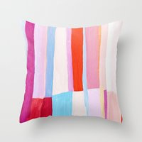 Library II Throw Pillow