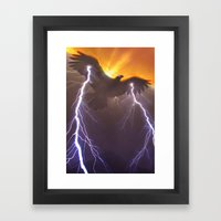 Thunderbird Framed Art Print