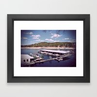 One Summer Day... Framed Art Print