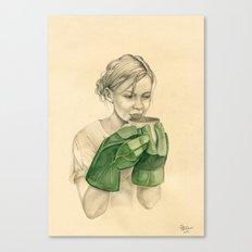 bun-fight Canvas Print