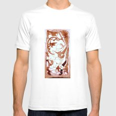 Cabsink16DesignerPattern… Mens Fitted Tee White SMALL