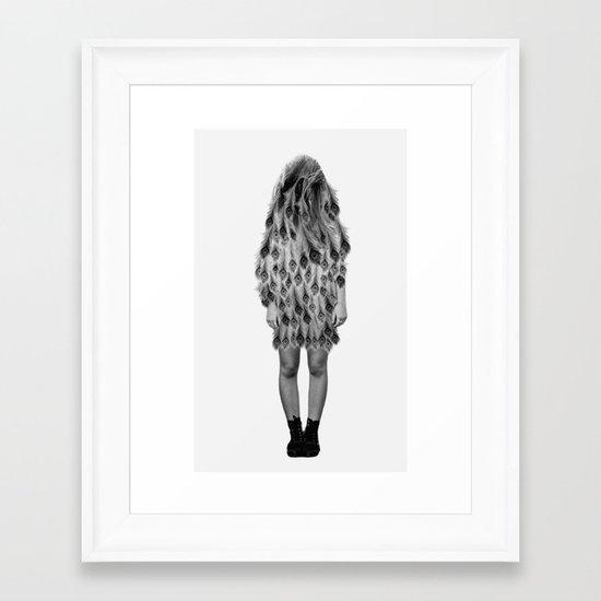 Peacock #2 Framed Art Print
