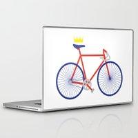 bike Laptop & iPad Skins featuring Bike by Keep It Simple