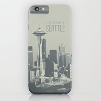 I LEFT MY HEART IN SEATT… iPhone 6 Slim Case