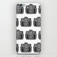 I Still Shoot Film Holga Logo - Black and White iPhone & iPod Skin
