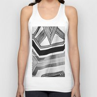 Unisex Tank Top featuring Modern Zebra Abstract by Love2Snap