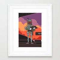 EP5 : Boba Fett Framed Art Print