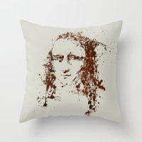 Modern Lisa Throw Pillow