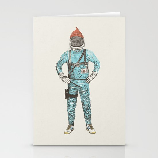 Zissou In Space Stationery Card
