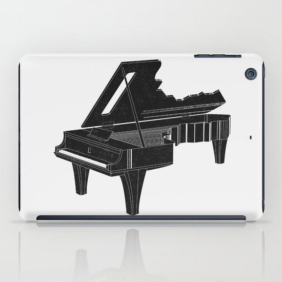 Music Is The Key B iPad Case