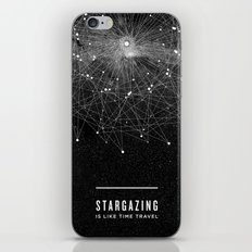 STARGAZING IS LIKE TIME … iPhone & iPod Skin