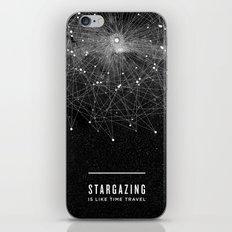 STARGAZING IS LIKE TIME … iPhone & iPod Skin