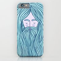 iPhone & iPod Case featuring Merman by Katie L Allen