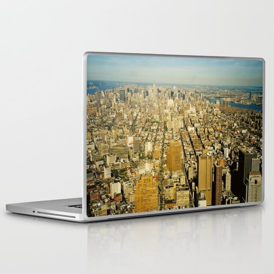 NEW YORK 4 Laptop & iPad Skin
