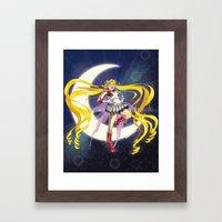 Sailor Moon! Framed Art Print