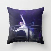 Techno Diva Throw Pillow